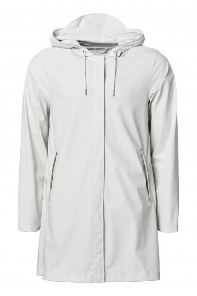 Rains, A-Line Jacket, Off White