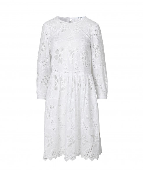 "Samsøe Samsøe ""Junia LS Dress"" Bright White"