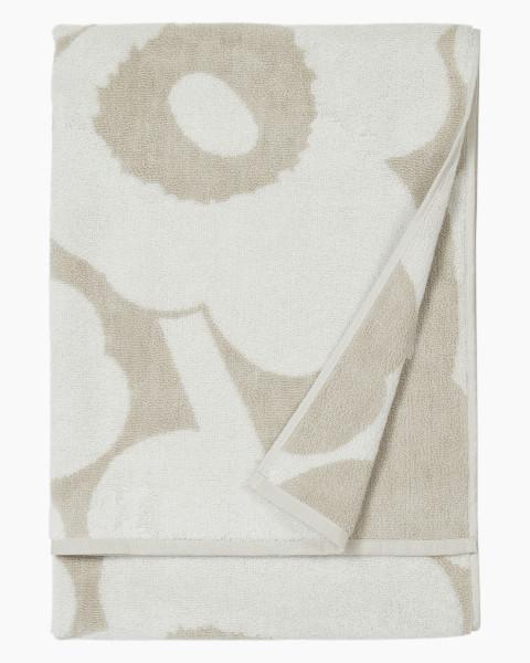 Marimekko, Unikko Bath Towel 70x150cm, Beige White