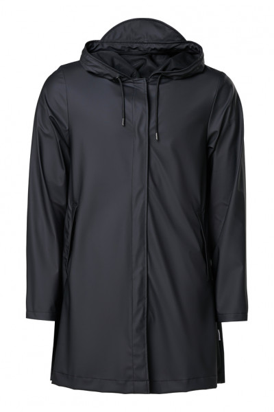 Rains, Aline Jacket, Black