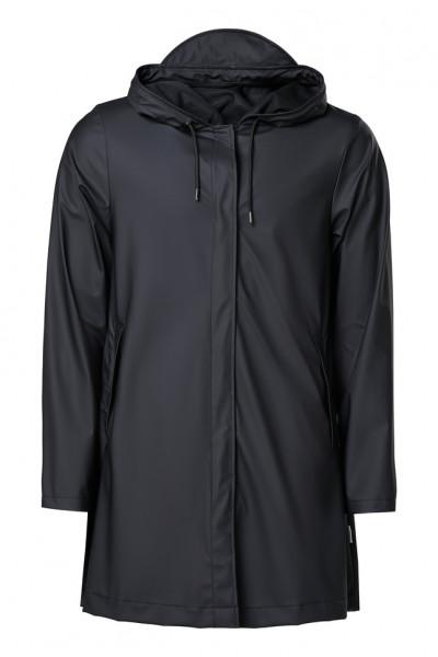 Rains, Aline Jacket, Black