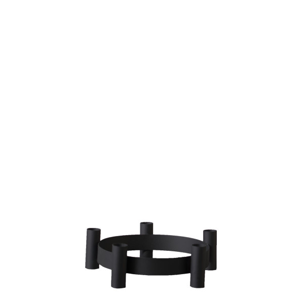Storefactory Skandinavia, Lycke - Black candelstick