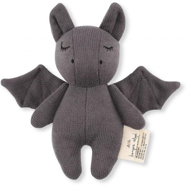 Konges Sløjd, Mini Bat Rassel, grey