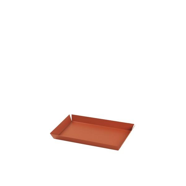 """Broste Copenhagen, Tablett """"Erika"""" mittel, Pumpkin Orange"""