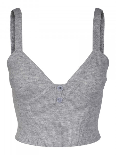 One & Other, Moses Bralette, Mole Grey Mel