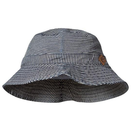 """Ebbe """"Sivo Sun hat"""" Hickory Stripe Size 1 (6-12 Monate)"""