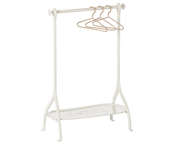 "Maileg ""Clothes Rack in Metall"" Off White"