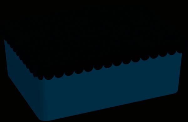 """BLA FRE """"Lunchbox"""", White Dark Blue"""