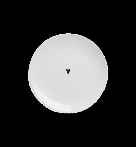 "Anna+Nina Desert Plate, ""Heart"""