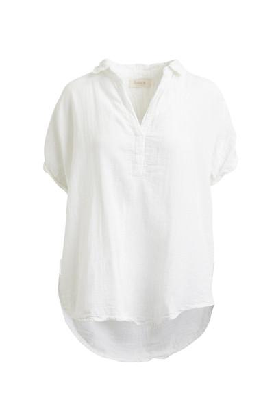 Rabens Saloner, ABENDI, Cotton Shirt, White