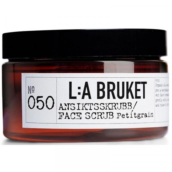 """LA Bruket No. 050 """"Face Scrub"""" Petitgrain 120g"""