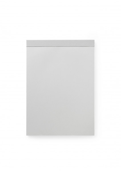 Normann, Paper Pad Large Silver Grey