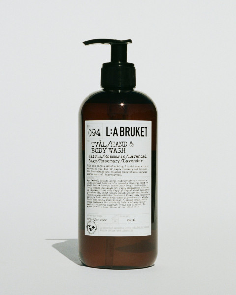 "L:A Bruket, No.94 ""Liquid Soap"" Sage/Rosemary/Lavender 450 ml"