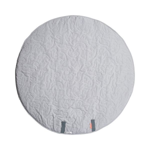 "Done By Deer ""Round Play Mat"" Sleepy Friends, Grey"