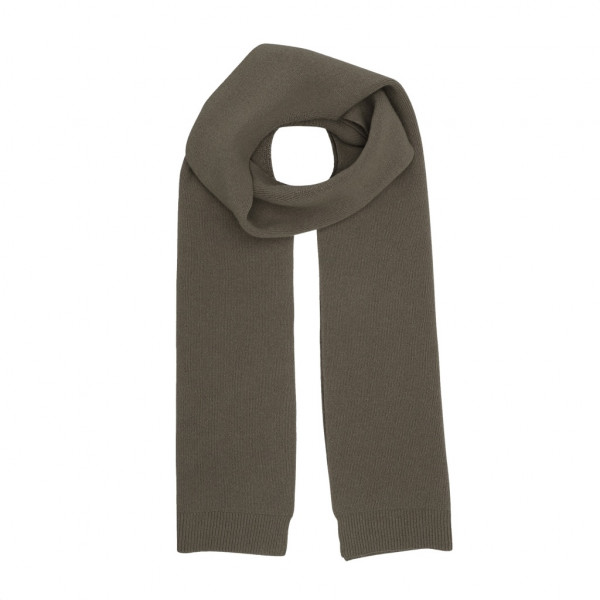 Merino Wool Scarf, Dusty Olive