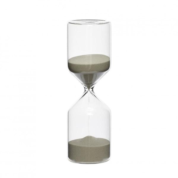 """Hübsch """"Sanduhr"""" 30 min, klein, ø6xh18cm"""