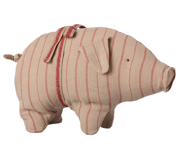 Maileg, Pig with Stripes, Small