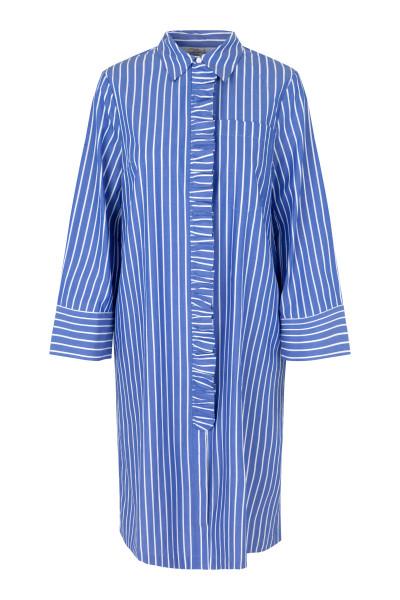 Baum und Pferdgarten, ANTONIETTA Dress, Blue Cotton Stripe