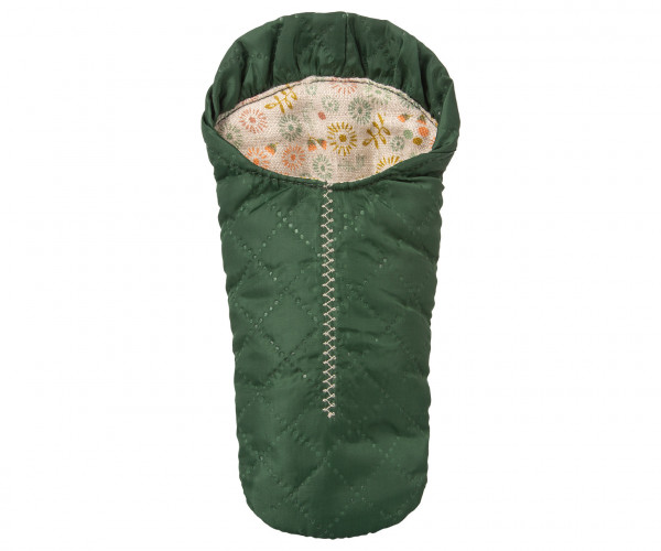 "Maileg ""Sleeping Bag"" Small Mouse, Green"