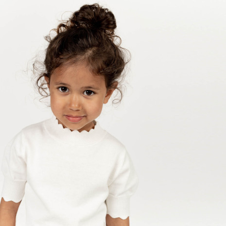 Ebbe Natalia knitted Top, Soft White