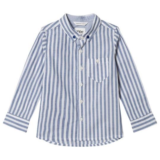"Ebbe ""Folland Shirt"" Navy Stripes"