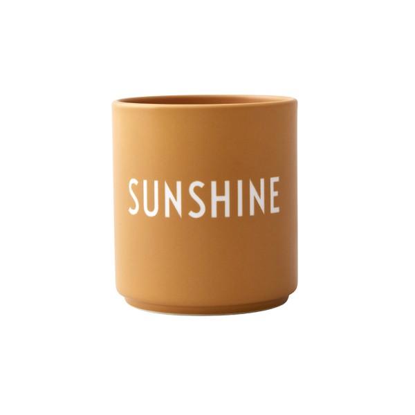 Design Letters, Favourite cups, SUNSHINE