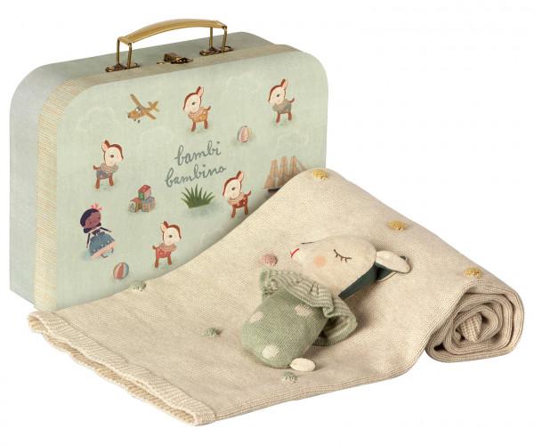 Maileg, Baby Gift Set, Dusty Mint