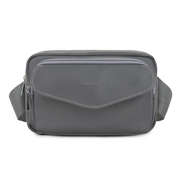 Daniel Silfen, Waist Bag Leather, Sunny, Reflective