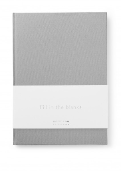 Normann, Notebook Large Grey