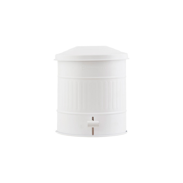 House Doctor, Garbage Bin, Matte White, 15 Liters