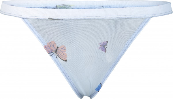 OW Intimates, Butterfly Thong, Dusty Blue