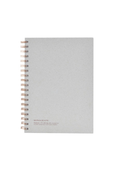 monograph, Note book, Tome, Grey, groß
