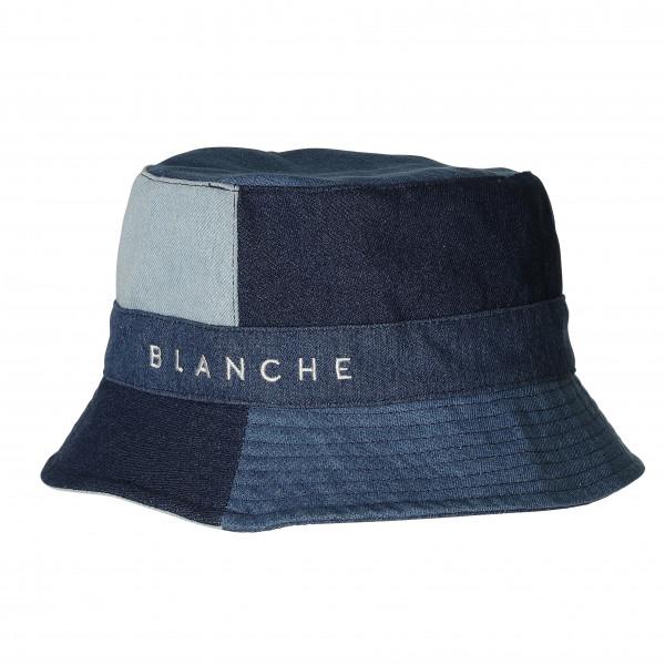 BLANCHE Bucket Hat, Mid Blue