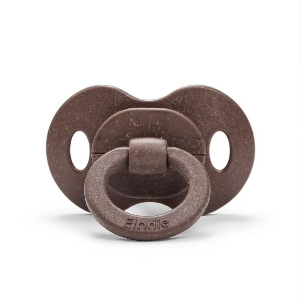 Elodie, Bambus-Schnuller Naturkautschuk 3+ Mon - Chocolate