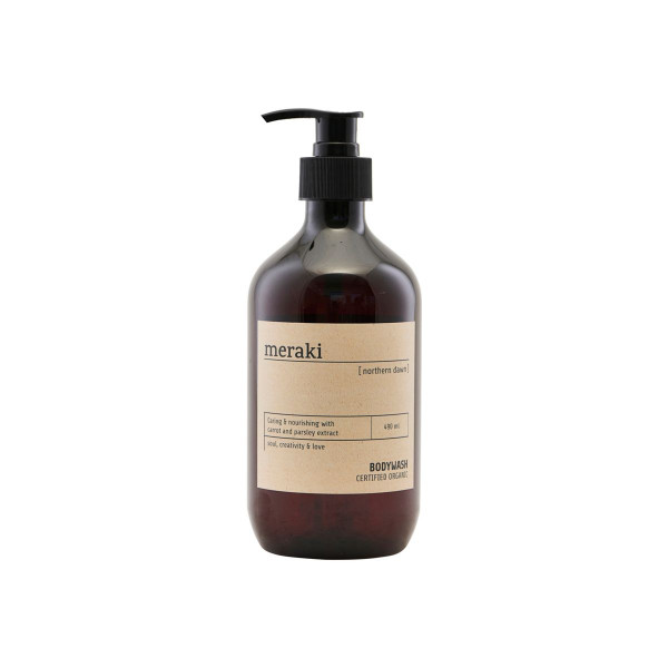 Meraki, Bio Body Wash, Northern Dawn