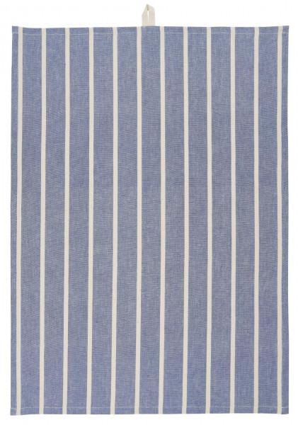 Ib Laursen, Geschirrtuch blau mit Streifen