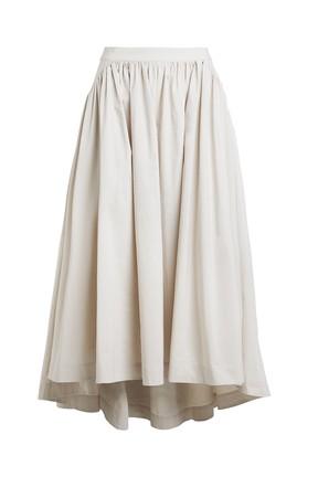 Rabens Saloner, Adisa Weightless Skirt, Off White