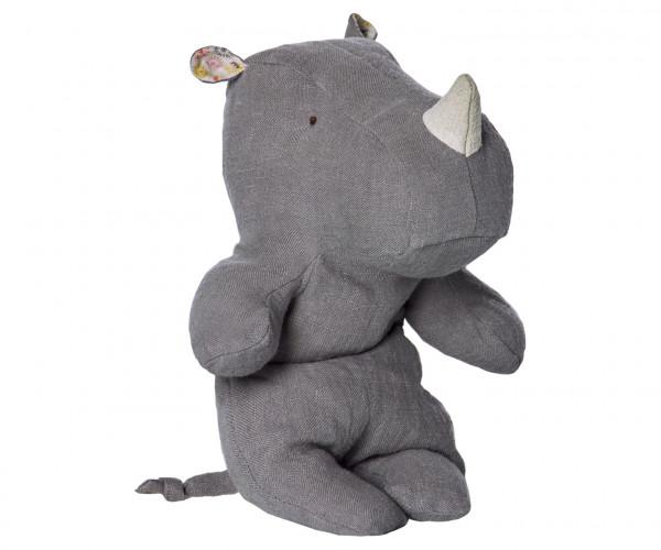 "Maileg ""Safari friends, Small Rhino"" Grey"