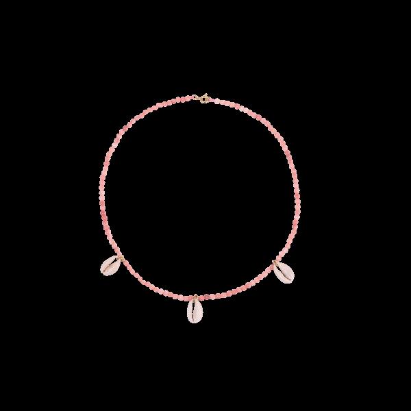 Anna+Nina, Coral Pink Necklace