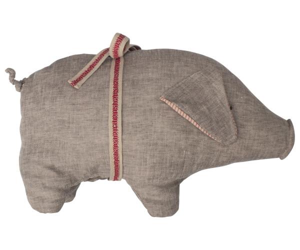 Maileg, Pig, Grey, Medium