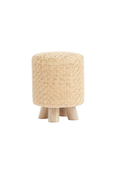 House Doctor - Stool, Weave, Nature