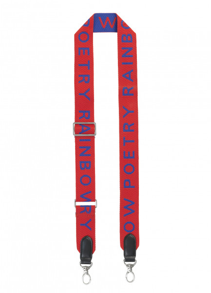 Poetry Strap, Fiery Red