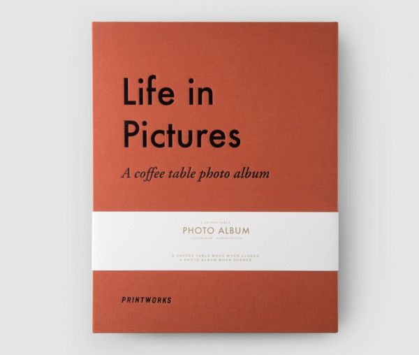 """Life in Pictures ""Terracotta - Photo Album"