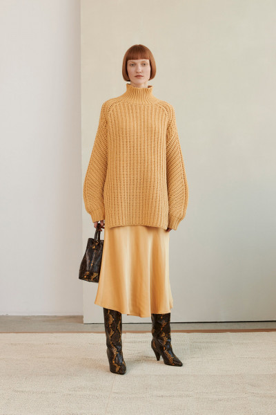 Samsøe & Samsøe, Zelma Turtleneck, New Wheat