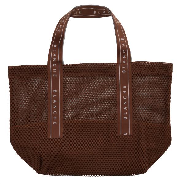 BLANCHE, Tote Logo Bag, Caramel
