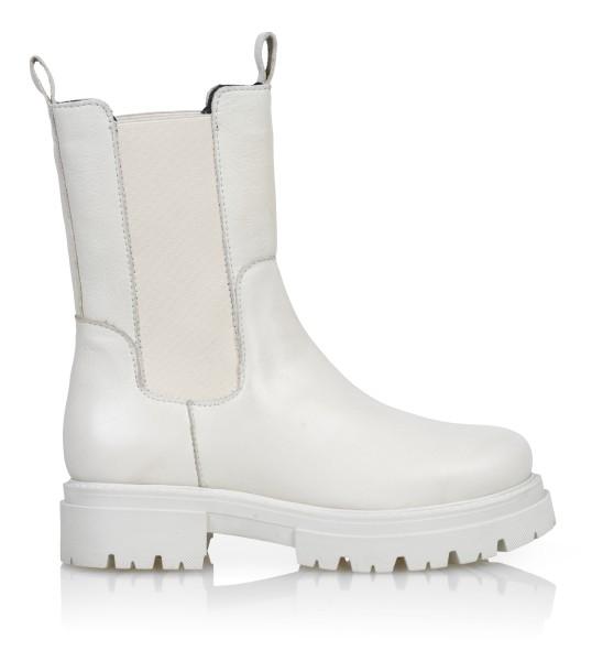 Shoe Biz, Prima New Sauvage Boots, White