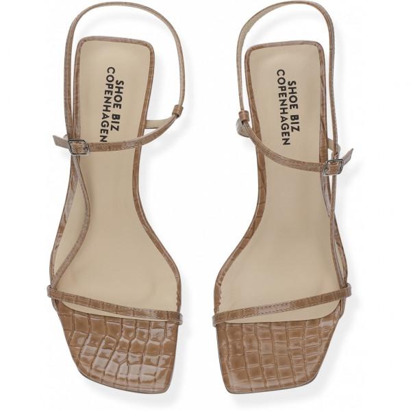 Shoe Biz, Ninis Croco Patent Cappuccino