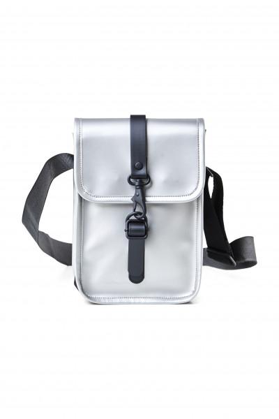 RAINS, Flight Bag, Silver