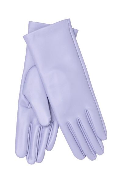 Stine Goya, Lantana, PU Leather Gloves, Lilac