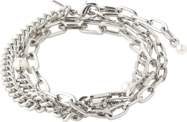 Pilgrim, Bracelet, Enchantment, versilbert